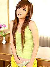 Asian Women lolita cheng 11 braces food play