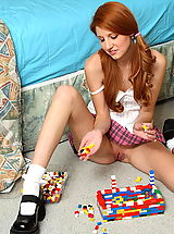 ALS Scan Pics: rita lovely 01 redhead pigtails