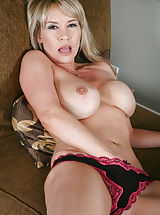 crotchless panties, Mature Woman Bridgette Monroe
