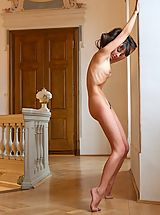 Skinny Nude, Lorena G. does female masturbation in A Different Kind of Woman