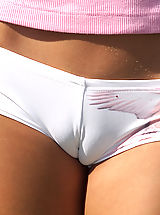 lace panties Liv Wylder and Loli